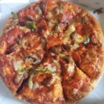 ドミノ・ピザ持ち帰り半額を買ってきた