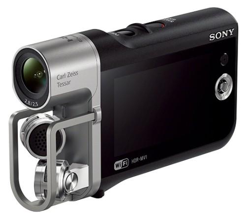SONY ミュージックビデオレコーダー HDR-MV1で撮ってみた