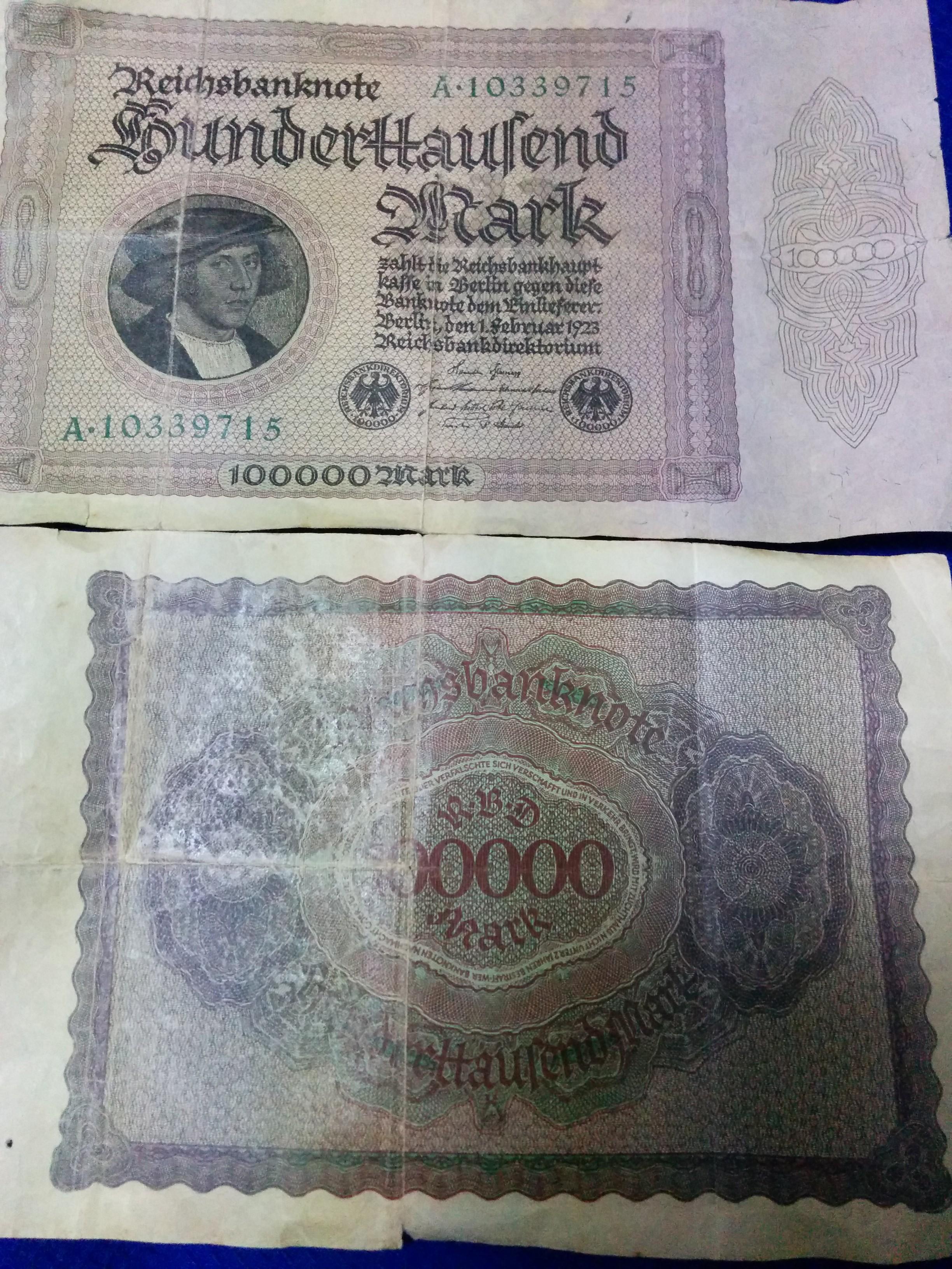 幻の10万マルク